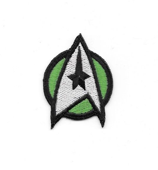 STAR TREK The Motion Picture Movie - Medical Green Logo Embroidered Patch NEW