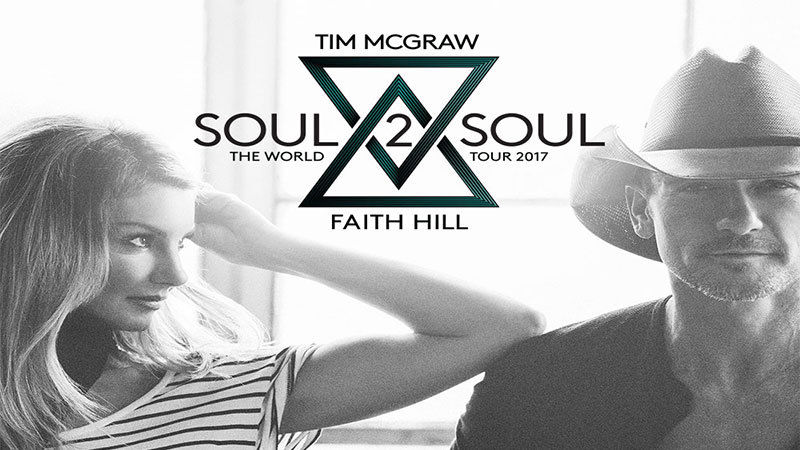 2 tickets- Tim Mcgraw & Faith Hill - 3rd row- Huntingotn Center- Toledo,OH 6-8-1