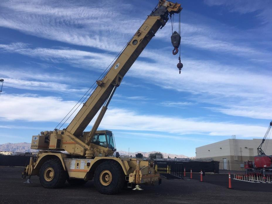 1994 Grove RT855B 55-Ton Rough Terrain Crane located in Las Vegas