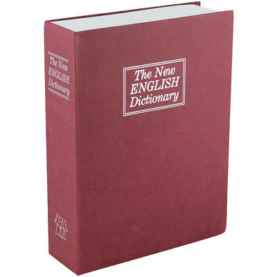 NEW English Dictionary Book Safe - Hide Your Valuables In Plain Sight - Lockbox