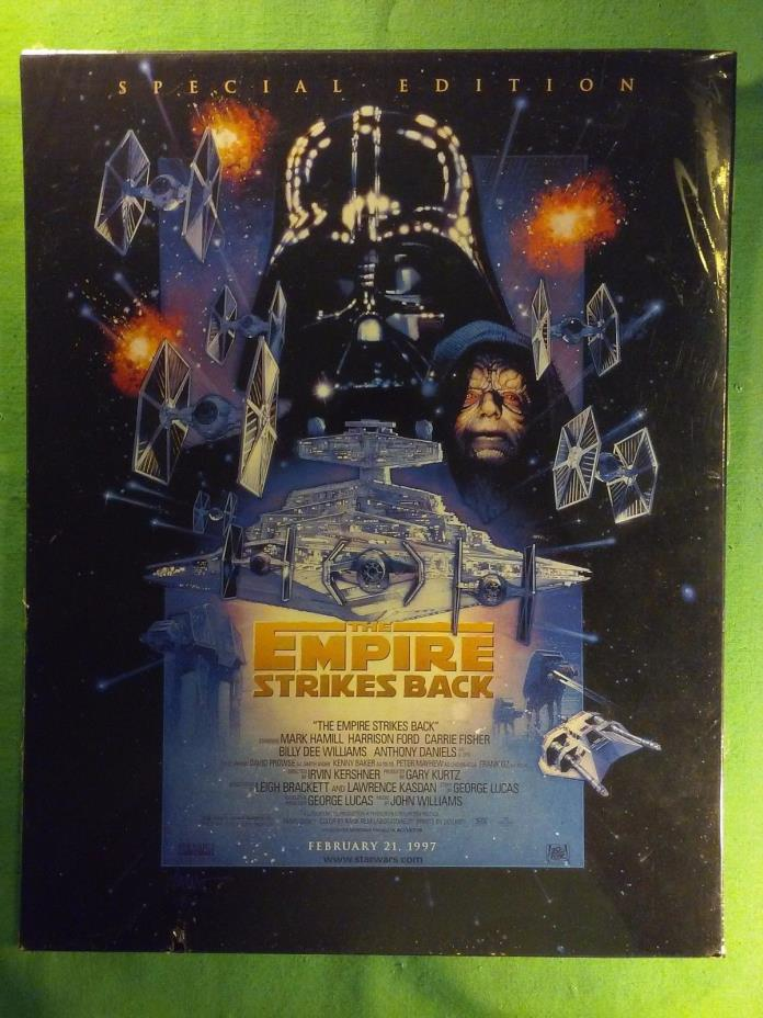 Star Wars V: The Empire Strikes Back - 1997 Rerelease Poster - Reprint 11x14 In.