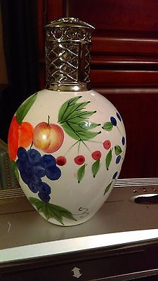 Very Large  Catalytic Fragrance Lamp with fruit decor