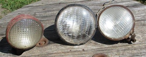 Tractor Lights Headlights Spotlight Search Light Farmall Ford IHC John Deere