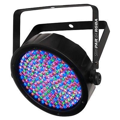 Chauvet DJ SlimPar 64 RGBA LED DMX Slim Style Par Can Stage Lighting Effect