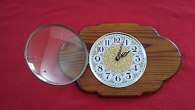 Vintage CLOCK, Made on EARTH CLOCK, Wall mount