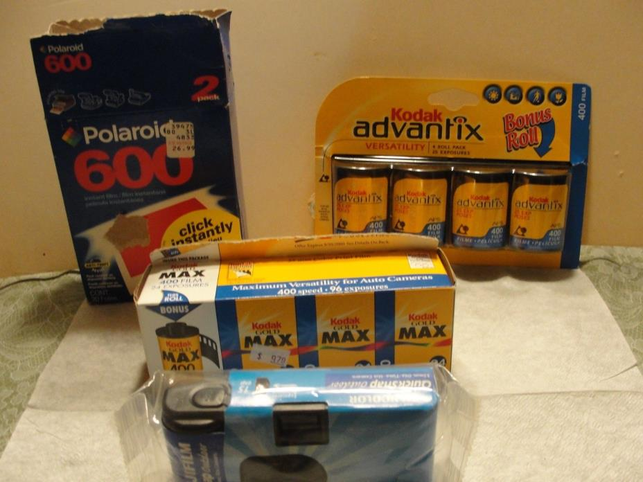 CAMERA FILM & MISCELLANEOUS ITEMS