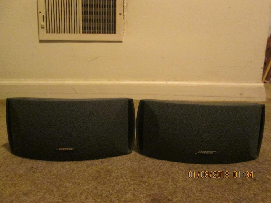 A Pair of Speakers Bose 3-2-1 / Cinemate / Free Style