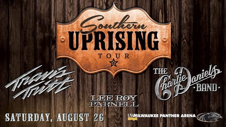 Southern Uprising- Travis Tritt, Charlie Daniels, Marshall Tucker Band, Fraze Pa