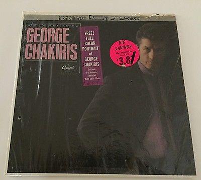 George Chakiris ST1750 Stereo album released in 1962 - MINT/NEAR MINT+