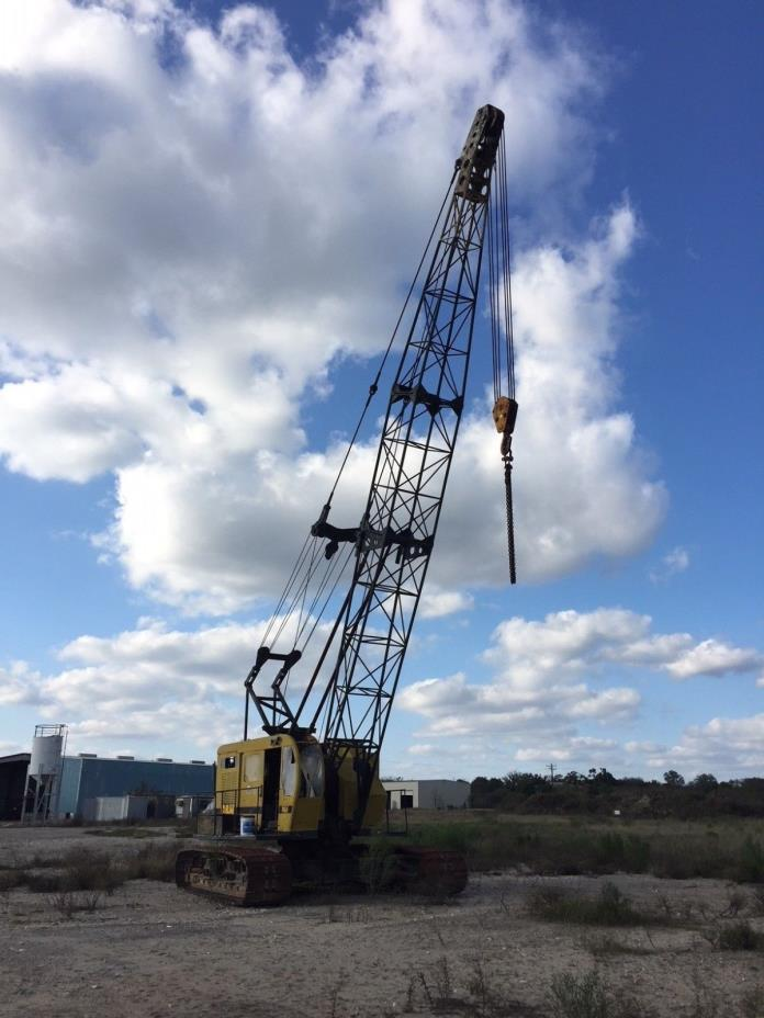 P&H 550 50 ton lattice boom crawler crane