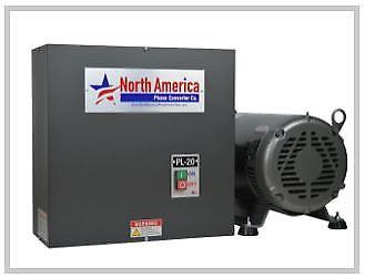 Phase Converter, Rotary, 30 HP, North America Phase Converter Model PL-30