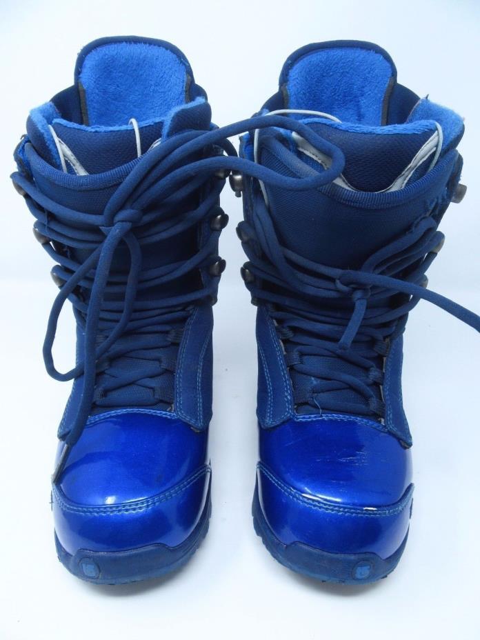 Womens Burton Freestyle IMPRINT 2 Rampant Blue Snowboard Boots Size 7