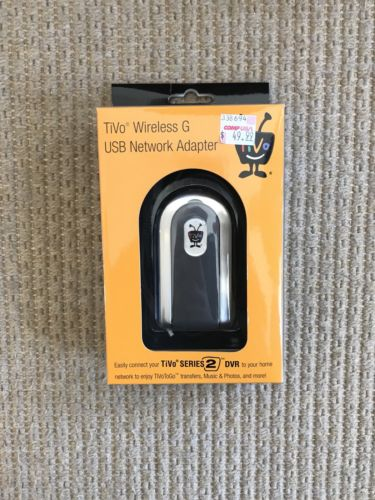 TiVo AG0100 Wireless G USB Network Adapter for TiVo Series 2 and Series 3 DVRs