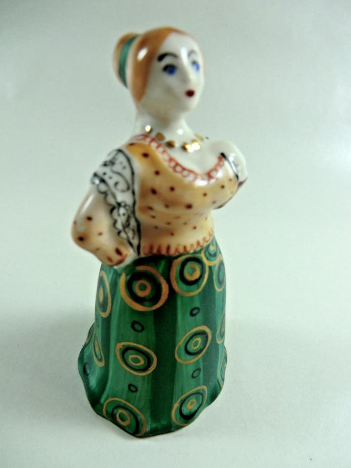 Moscow Porcelain Factory Figurine of Woman with Shawl - Dresden? or Gardner?