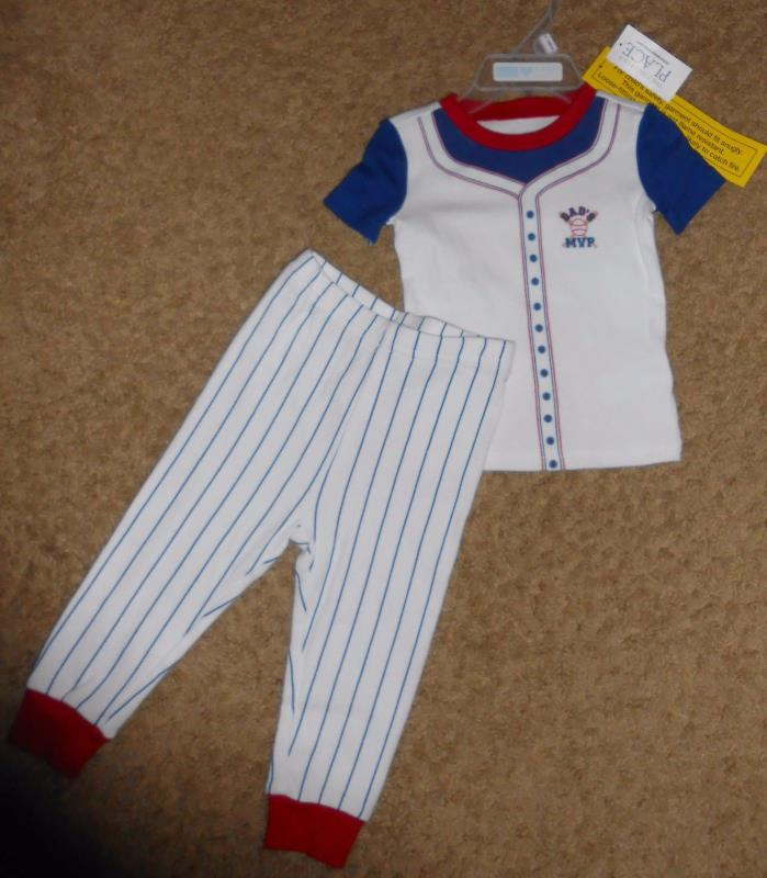 Dad's MVP 2PC  sleep set  SIZE 9-12  months   by The Children's Place