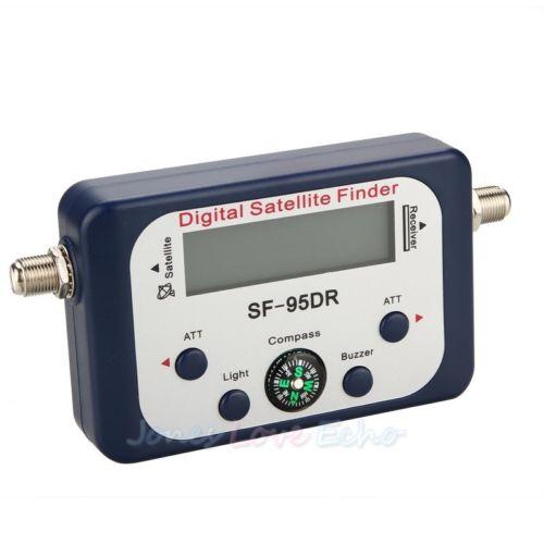 New Digital satellite signal meter Finder Dishnetwork Directv dish with compass