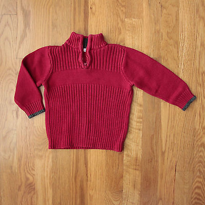 Green Dog Half Zip Sweater | SIze 18 months | EUC!