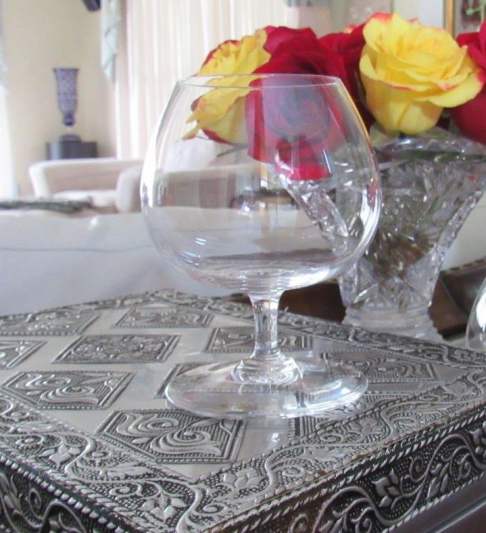 BACCARAT CRYSTAL  ~ France ~ BRANDY Glass SIGNED Pattern: PERFECTION