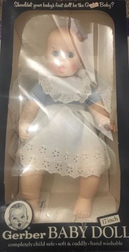 Vintage Gerber Baby Doll 1979 New in Box
