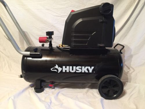 HUSKY 0300813A 8 Gal. Portable Oil Free Electric Air Compressor