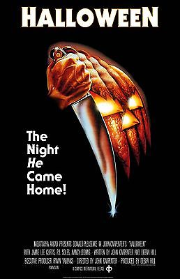 HALLOWEEN 11x17 mini movie poster collectible Michael Myers Lee Curtis