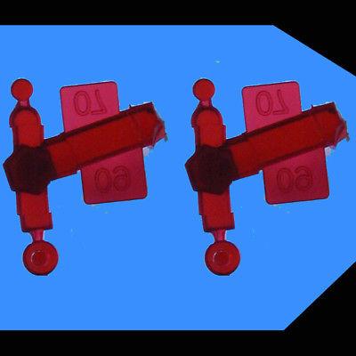 SD24 Red Marker Light Lens Set (2 Sets)    ATLAS 750268 HO Scale SD-24