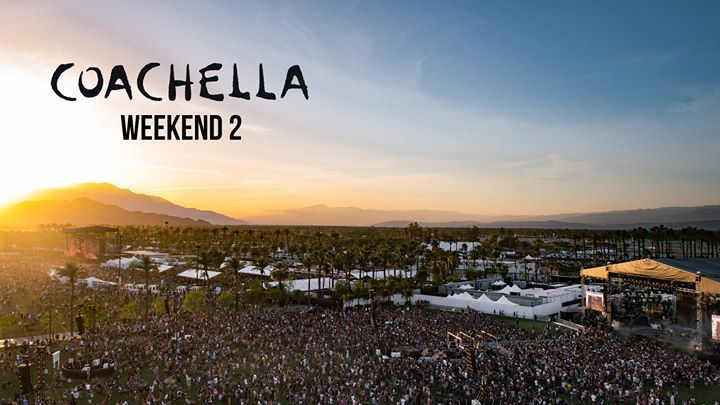COACHELLA 2018 - Weekend TWO - Wristband Pass - April 20-22, 2018 - 3-Day Ticket