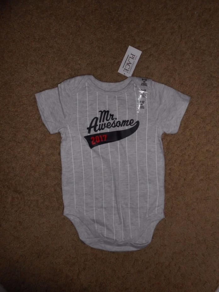 Mr Awesome 2017    design  ONSEY   SIZE  12-18 months