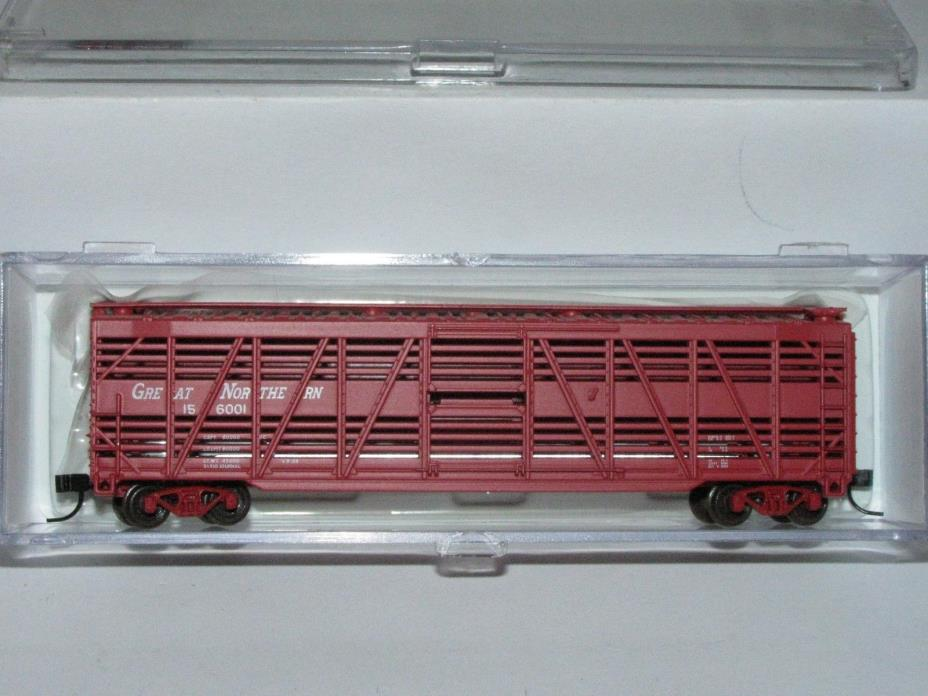 ATLAS N scale 35432A Great Northern 50' Stock Car 156001