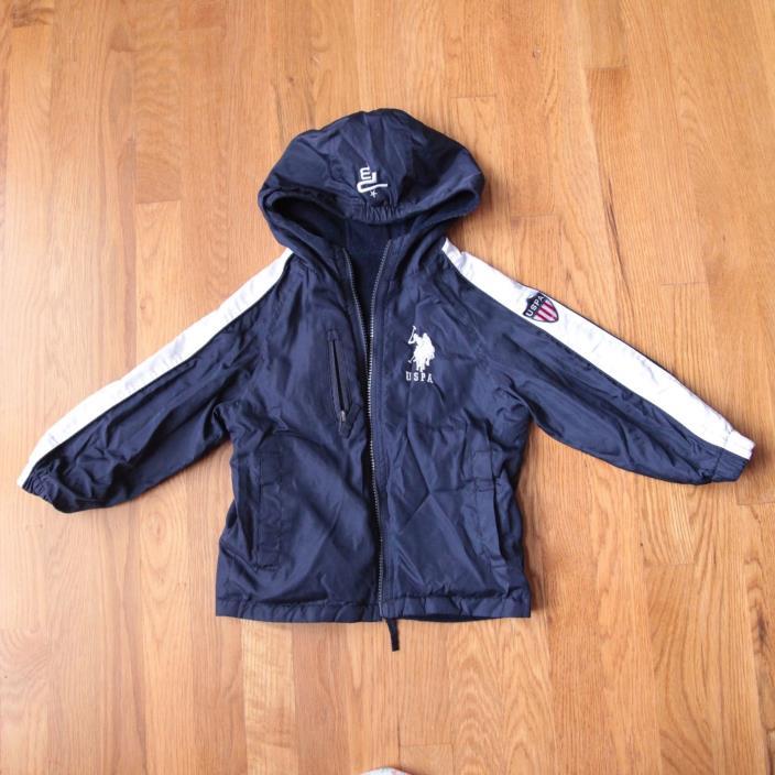 U.S. Polo Assn Jacket  Reversible | 4T | EUC!