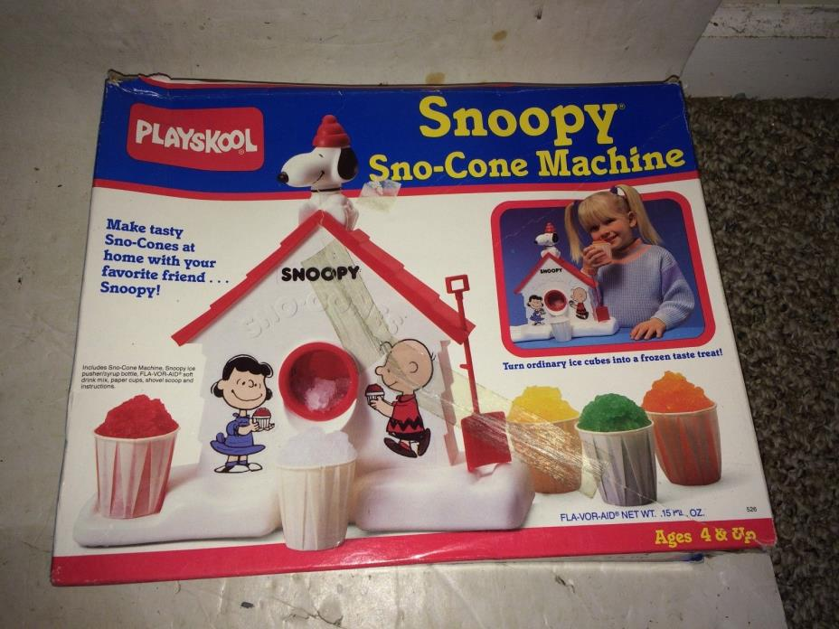 Vintage 60s/70s Peanuts Lunchbox,Snoopy Sno-Cone,Jack-In-The-Box,Books,Aviva Car