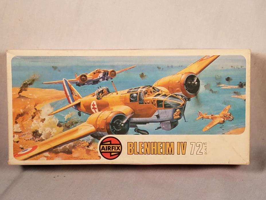 AIRFIX 1/72 BLENHEIM IV MODEL KIT #2027 NIOB