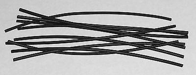 Heat Shrink Tubing 1/16 inch 10 pcs 6 inch each 2:1 Shrink Ratio