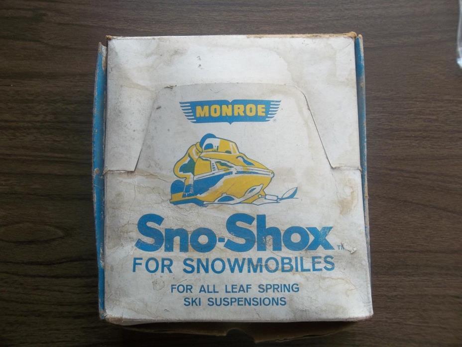 Vintage Monroe Sno Shox Kit # SS-15104 Snowmobile Shock Kit Leaf Suspension