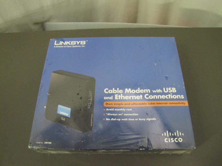 Linksys Cisco CM100 Cable Modem