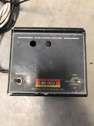 Mid-Tech Single Conveyor Switchbox with Off/Auto/GSO