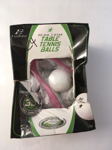 40MM 1- Star Table Tennis Balls 24 Pack Has Some Dirt Spots On Them