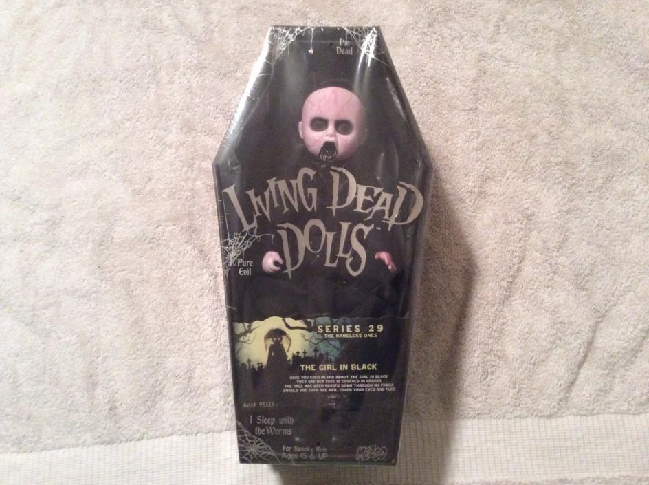 living dead dolls series 29 the girl in black