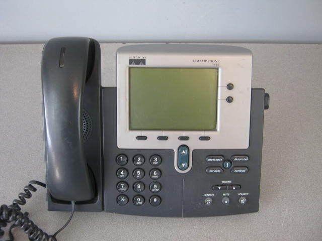 Cisco IP Phone 7900 Series VOIP Telephone 7940