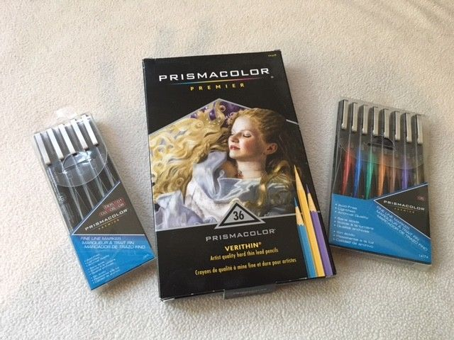 Prismacolor Pencil & Pen combo pack