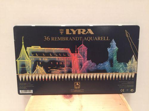 LYRA Rembrandt Aquarell Artists' Colored Pencils, Set of 36, Assorted Colors