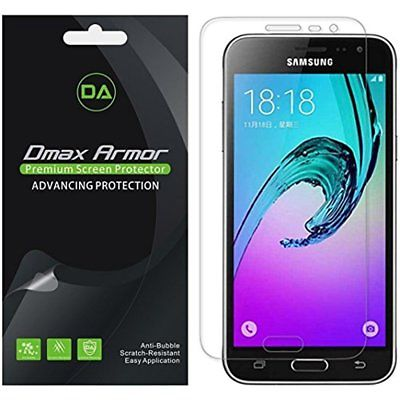 Screen Protectors 6-Pack Dmax Armor Samsung Galaxy J3 (Verizon) Protector, High
