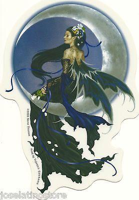 Nene's Solace Fairy Sticker An Elegant, Raven-Haired Fairy 4