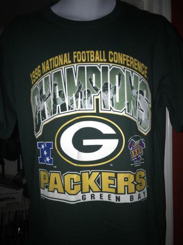 1996 Packers Mens Shirt Medium