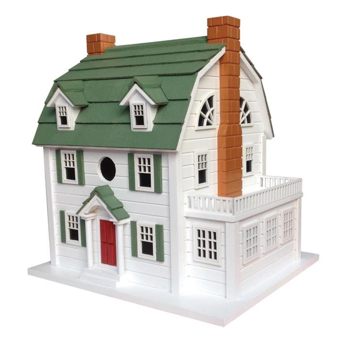 HB-9509 - Home Bazaar  Dutch Colonial Birdhouse (aka Amityville Horror House)