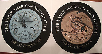 Waltham Appleton Tracy & Co. Movement and Fancy Dial - 2 Bench / Mouse Pads