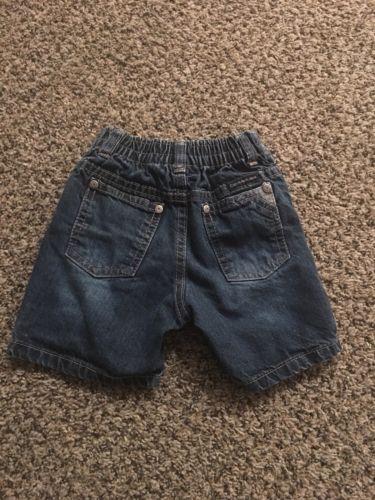 Calvin Klein Jeans Toddler Boys 18 Mo Denim Jean Shorts EUC
