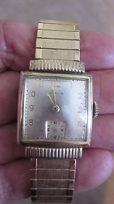 Vintage Swiss Made Bancor 17 Jewel Watch With Flex Band.  In Running Condition