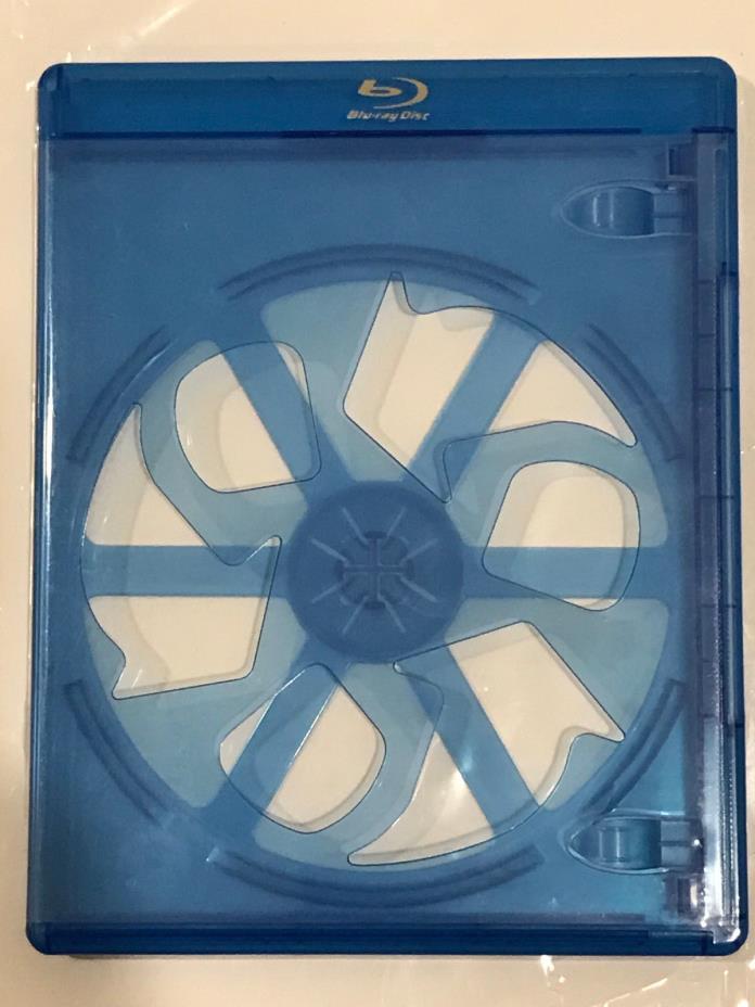 5 ELITE Blu-ray Single Disc Slim 6mm Cases - Holds 1 disc