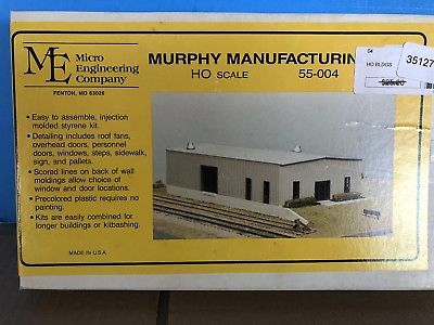 MICRO ENGINEERING HO 55-004 MURPHY MANUFACTURING BUILDING KIT.. NEW IN BOX